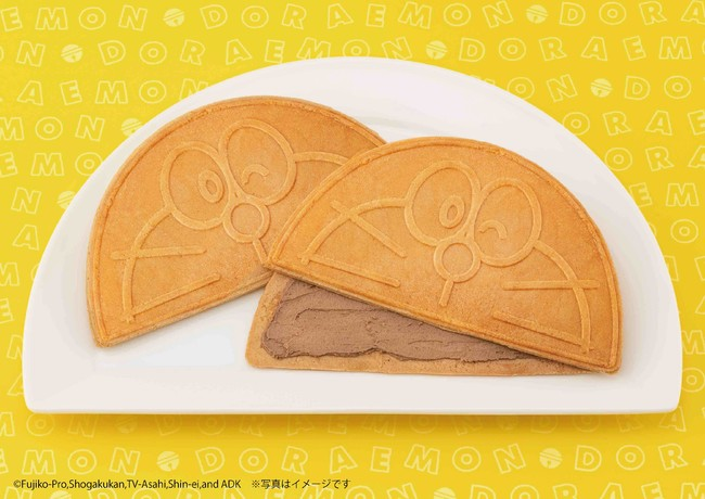 """The second installment of """"Doraemon Tokyo Banana"""", the fragrant """"Half Moon  Sandwich"""" is born! Released sequentially at Lawson - Japan NEWS"""